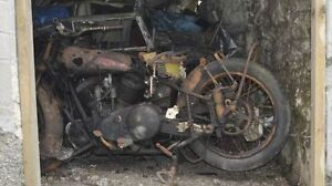 WANTED BARN Find Motorcycles.Any Make,Any Year Older than 1975,