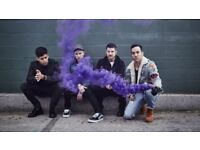 FRONT ROW Fall Out Boy Tickets O2 Arena London 31/3/18