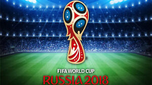 World Cup Morocco vs Iran 3rd Row ticket St Petersburg