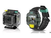 Ee action cam and watch plus extras.