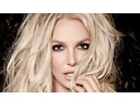BRITNEY SPEARS TICKETS - FACE VALUE - £234 - SSE HYDRO GLASGOW - 22ND AUGUST - THIS WEDNESDAY!!