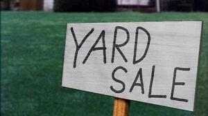 Yard sale-316 Edward street n