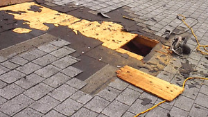 Roof repais and re-roofing