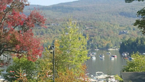 MONT-TREMBLANT 1 bdrm condo/1 KM TO HILL/main floor