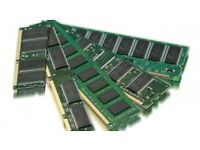 2GB DDR2 and DDR3 PC and Laptop (sodimm) Ram Memory Modules