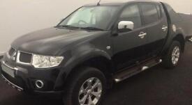 Mitsubishi L200 2.5DI-D CR 4WD LB Double Pickup auto Barbarian FROM £41 PER WEEK