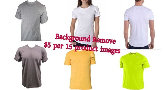 Photoshop software Photo editing, background removal service for product photos.