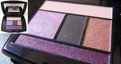 lancome Color Design Eye Brightening All In One 5 Shadow & Liner Palette Lavende Lavender Color Brightening
