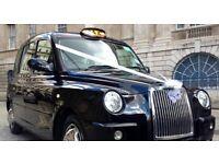 Iconic London Taxi Wedding Car