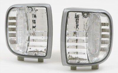 Clear Corner Park Signal Lights DEPO Fits 1994-1997 Mazda Pickup Truck B2300