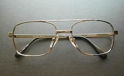 Exclusive Lenscrafters Plc Unisex Aviator Eyeglasses Rx Frames 53 19 140 Gold