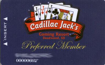 Cadillac Jack's Casino - Slot Card