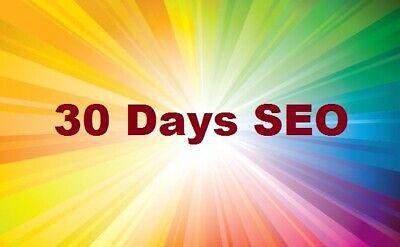 30 Days Keywords Optimization Google White Hat Seo And Keyword Targeted Traffic