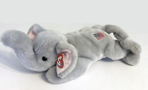 Righty the Republican Elephant Ty Beanie Buddy stuffed animal