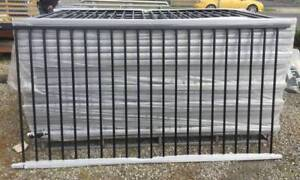 Spring Special Steel Pool Fence Panels 1.2m x 2.4m in Black
