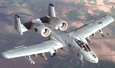 """A-10 Thunderbolt  """"WART HOG""""  56 inch  Scale RC Model AIrplane Printed Plans"""