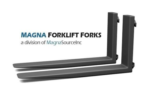 "NEW Forklift Forks + 72"" Long Class 4 +  12500 Capacity + Free Shipping + Magna"