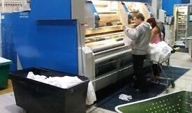 Laundry operative needed for every Sunday