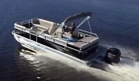 23 ft pontoon Princraft trailer and 90 hp Mercury 4 stroke