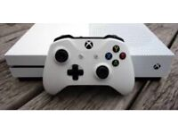 Xbox 1s with accessories and games