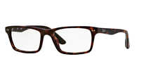 Ray Ban Eyeglasses RX5288 2012 52 Polished Havana / Demo Lens Optical RB5288