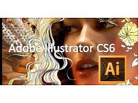 Adobe Illustrator , Photoshop , After Effects , Premiere Pro , InDesign for Windows Macbook Imac