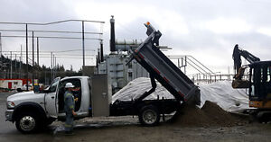 FREE sand/gravel blend for construction projects