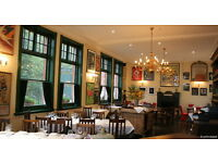 Part time waiting staff and Bar staff, The Peasant, EC1. £9.00 - £9.50 per hour