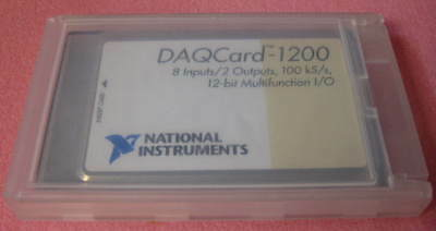 Ni Daqcard-1200 12-bit Multifunction Io National Instruments Pcmcia Daq 1 Ea