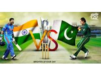 Pakistan vs India Silver Tickets - 4 June ICC Champions Trophy 2017 - Eric Hollies Stand (party)
