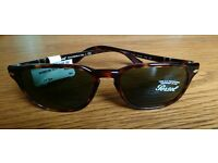 Persol 3019-S tort brown. Green Lens Sunglasses for sale