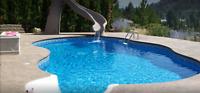 l'installation de piscines