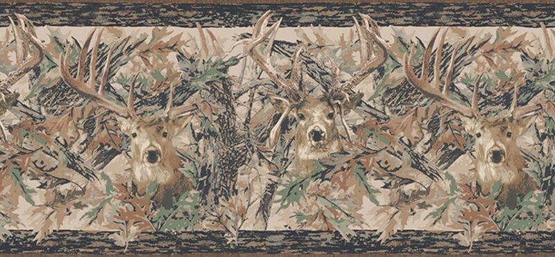 HD Camo Wallpaper with Deer Heads