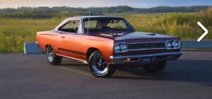 1968 GTX 440 auto #s car sale or trade