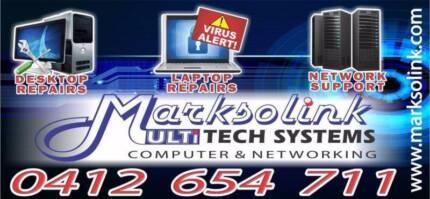Laptop, Desktop, Server & Network Support For Homes & Businesses Caroline Springs Melton Area Preview