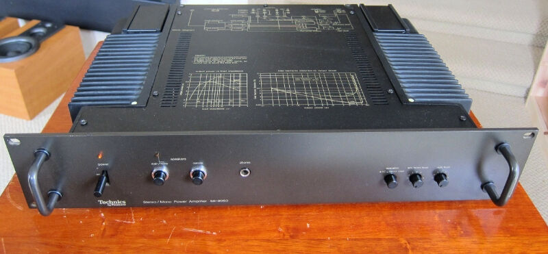 technics se 9060 stereo power amplifier amp professional series stereo systems home theatre. Black Bedroom Furniture Sets. Home Design Ideas