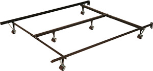 Metal Bedframe for Double, Twin, Single Beds