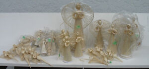 Angels of different sizes ( $1.50 - $4.00 )
