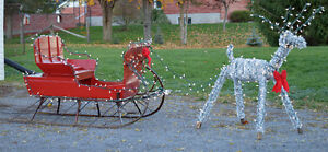 one of a kind sliegh and reindeer Belleville Belleville Area image 3