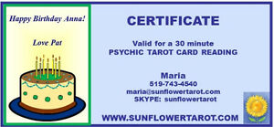 Psychic Tarot Card Readings (Medium Readings also available) Kitchener / Waterloo Kitchener Area image 4