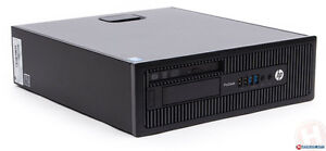 HP EliteDesk 800 G1 Small Form Factor PC 16 G, SSD, I7