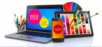 Professional web and graphic development service freelance