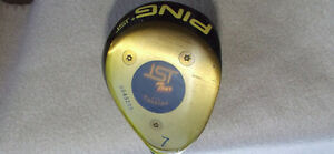 Ping ISI Tour 7 Wood (RH) + Head Cover - $27.00