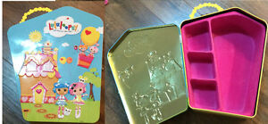 Lalaloopsy Collector Metal Tin Carrying Case For Mini Dolls