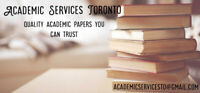 Academic Services: quality academic services you can trust