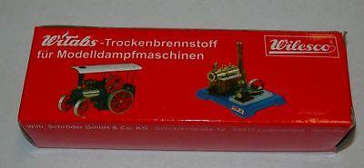 12 Tabletten  i.P. Trockenbrennstoff  Witabs 01010 Wilesco Dampfmaschine