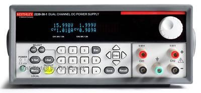 Keithley 2220-30-1 Dual Channel Dc Power Supply 2x 0-30v 0-1.5a