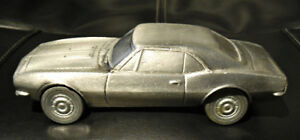 1967 CAMARO SS VINTAGE HEAVY CAST BANK - RARE MADE BY BANTHRICO