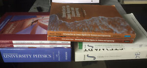 Physics, Calculus, Linear Algebra, Earth Sciences Textbooks