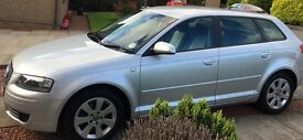 2005 Audi A3 2.0 TDI SE Silver Manual 6 speed Full service history